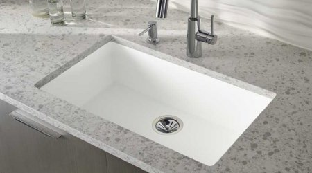 Corian Quartz Countertops With Corian Sinks