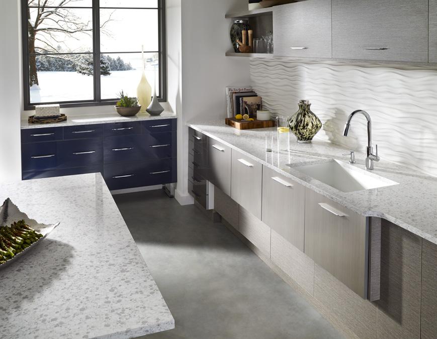 Kitchen Corian 174 Quartz