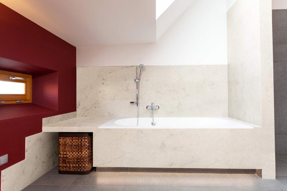 Bathroom Corian 174 Quartz